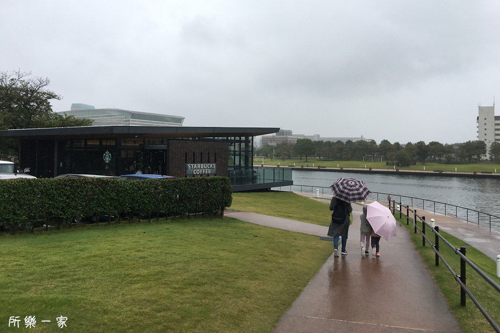 日本富山-富岩運河環水公園星巴克|沒有特殊外觀,卻是世界最美的Starbucks